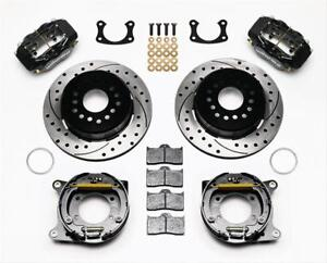 Wilwood 140 7140 D Disc Brakes Rear Kit Pro Series Ford