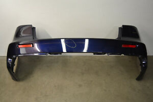 Mitsubishi Lancer Evo X Rear Bumper Cover Panel Blue Evolution 10 Oem 2008 2015