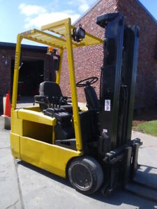 Electric Hyster J40 Forklift With Refurbished Battery