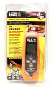 New Klein Tools Digital Ac dc Voltage Continuity Tester Et250 600v