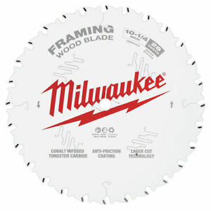 Milwaukee 48 40 1038 10 1 4 In 28t Framing Circular Saw Blade New