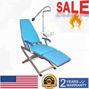Dental Folding Chair Unit With Water Supply System Cuspidor Tray Standard Type