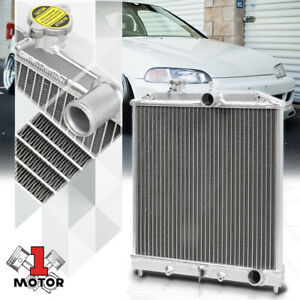 Aluminum 2 Row Performance Radiator For 92 00 Civic Del Sol 94 01 Integra Manual