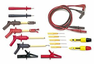 Pomona Electronics 2530614 Deluxe Automotive Dmm Test Lead Kit