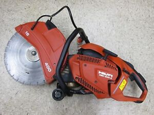 Hilti Dsh 900 x Concrete Cut off Saw 16 Blade