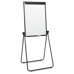 Lorell 2 sided Dry Erase Easel 36 Width X 24 Height Melamine llr55629
