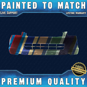 Painted To Match Front Bumper Cover Direct Fit For 2008 2010 Honda Accord Sedan