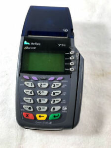 Verifone Vx510 Dual Comm Credit Card Machine Terminal printer