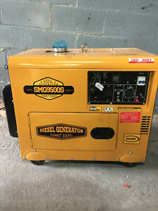 2018 Summit Diesel Generator Smg9500s 110 240 Voltage brand New