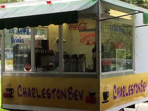 Custom Concession Trailer Food Truck 8 X10 With Equipment