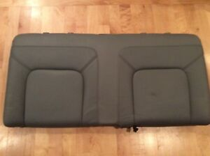 Vw 98 05 Beetle Hardtop Gray Grey Leather Rear Seat Upper Top Section