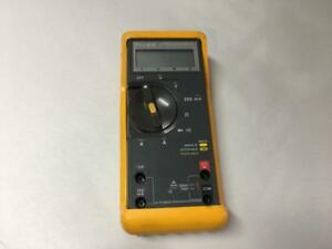 Fluke 77 Series Ii Multimeter W Yellow Protective Cover But Leads Not Included