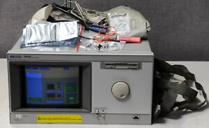 Hp Agilent Keysight 16500b Logic Analysis System With 16555a