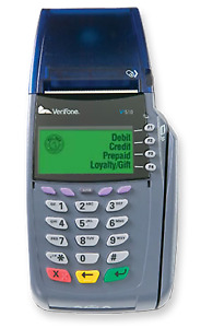 New Verifone Vx510le Dial Up Credit Card Terminal
