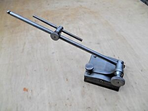 Satarrett No 257c Surface Gage With 12 Spindle