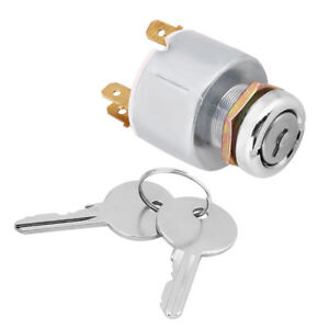 Car Motor Boat Universal 4 Position Ignition Switch 12v W 2 Keys Set Spb501 Es