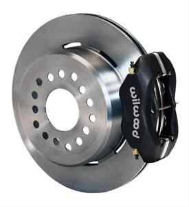 Wilwood Disc Brakes Rear Pro Series Solid Rotors 4 Piston Calipers Ford 9 Sm