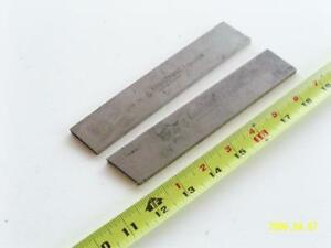 Lot Of 2 Hss Nos Large Tool Steel Parting Bits 1 4 X 1 3 8 Lathe Armstrong