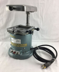 Omnivac 5 Dental Lab Vacuum Former For Mouth Guard Thermoforming Tested
