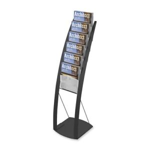 Deflect o Contemporary Literature Floor Stand 49 Height X 13 def693104