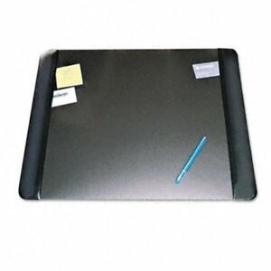 Artistic Executive Desk Pad With Leather like Panel 24 Width X 19 Depth