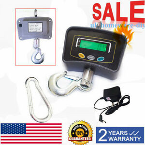 500 Kg 1100 Lbs Electronic Digital Portable Hook Hanging Crane Scale Lcd On Sale