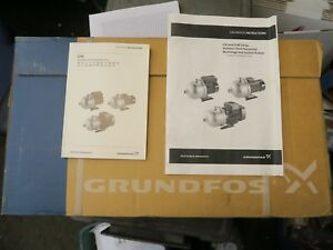 Grundfos Stainless End Suction Pump 1 5 H p 24gpm 183 3ph 60hz New c10s3