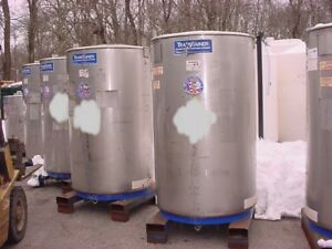 500 Gallon 316 Stainless Steel Tote Tank