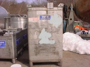 580 Gallon Stainless Steel Tote Tank Dot 57