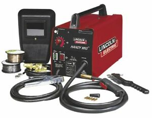 Lincoln Handy Mig Wire feed Arc stick Welder Compact Portable Lightweight Torch