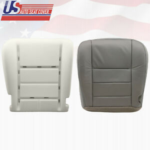 2002 2007 Ford F250 Lariat Driver Side Bottom Vinyl Seat Cover Plus Foam Cushion