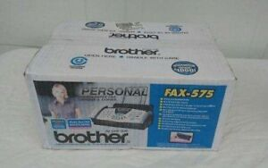 New Sealed Brother Fax 575 Plain Paper Fax Phone Copier Free Shipping