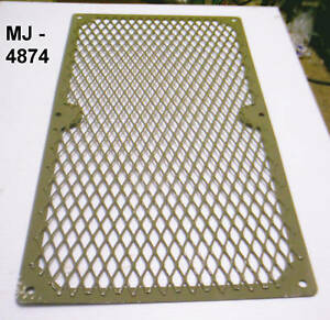 Diesel Engine Guard Expanded Wire Mesh Screen P n 12344314 nos