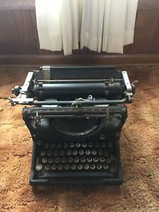 Antique 1920 S Underwood No 3 Standard Typewriter Fpor 500