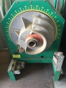 Greenlee 555 Bender 1 2 1 1 4 Inch Rigid Pipe Electric Rollers Will Ship