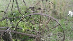 Old Antique Historic Farm Equipment Agriculture