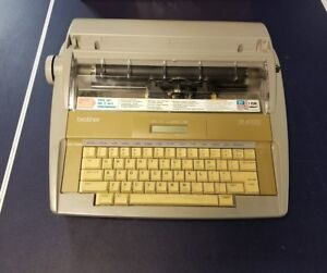 Brother Sx 4000 Electronic Typewriter W Lcd Display No Keyboard Cover Free Ship