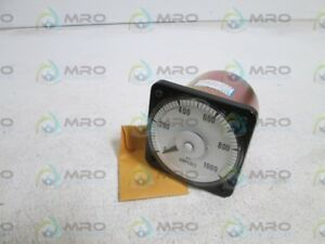 Eil 0 1000 Ac Amp Panel Meter 103131lsss New No Box