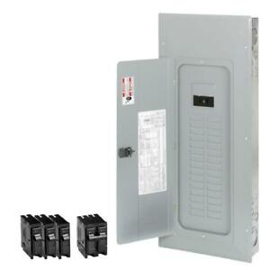 Eaton 200 amp 40 circuit 30 space Indoor Main Breaker Electrical Load Panel Box