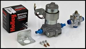120 Gph Electric Fuel Pump With Holley Regulator S 6254 Kit