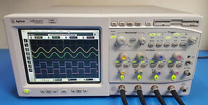 Agilent Infiniium 54835a 4 Channel Oscilloscope 1ghz 4gsa s Tested