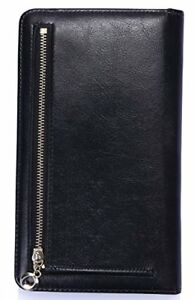 Mymazn Waitress Book Server Wallet With A Zipper Pocket At Back