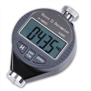 Shore D 100hd Durometer Digital Hardness Glass Tester Meter Lcd Display W Box