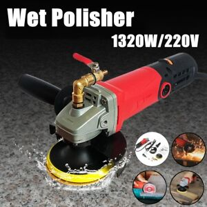 Wet Grinder Electronic Granite Marble Stone Polisher For Diamond Polish Pads Can