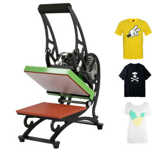 Portable T shirt Heat Press Digital Transfer Machine With Two Lcd Screen