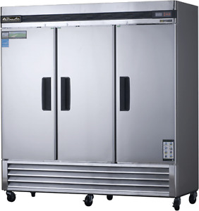 Blue Air Commercial Freezer 3 Door stainless warranty basf3