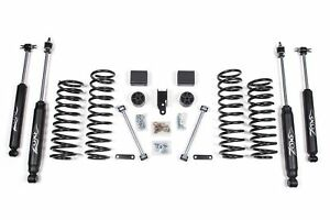 Zone Offroad 3 Full Suspension Lift Kit J12 2007 2011 Jeep Jk Wrangler 4wd