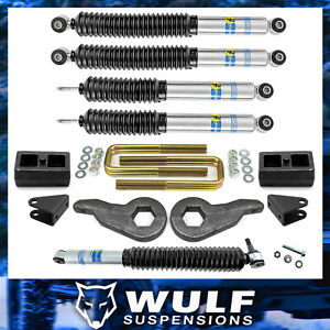 3 2 Leveling Lift Bilstein Steering Kit 2001 2010 Chevy Gmc 2500 3500 Hd 4x4