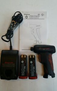 Snap on Cts561 7 2v Cordless Screwdriver W 2 Batteries Battery