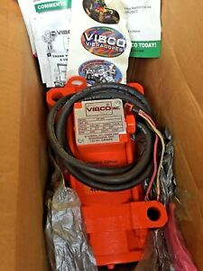 Vibco Electric Vibrator 2p 450 3 1 2 0 6a 460v 3 phase